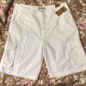 Paper Denim & Cloth Cream Cargo Shorts NWT